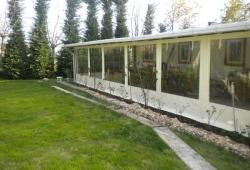 Şeffaf Kapama Kış Bahçesi